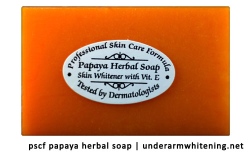 Buy Papaya Skin Whitening Soap | Underarm Whitening